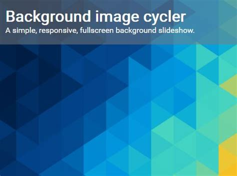 Css Background Image Responsive Simple Responsive Background Image Cycler With Jquery