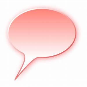 3D speech bubble red - /blanks/callouts/3D/3D_speech ...