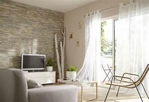Decoration Mur Interieur Salon : mur de salon en plaquettes de parement living room pinterest ps et salons ~ Teatrodelosmanantiales.com Idées de Décoration