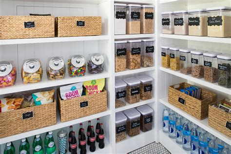 Pantry Organizers : 5 Steps To An Organized Pantry With Neat Method And The