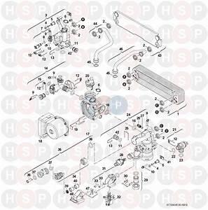Worcester Greenstar Combi 30 Cdi  Hydraulics Diagram