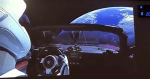 Tesla Dans Lespace : la premi re voiture dans l espace est une tesla ~ Nature-et-papiers.com Idées de Décoration