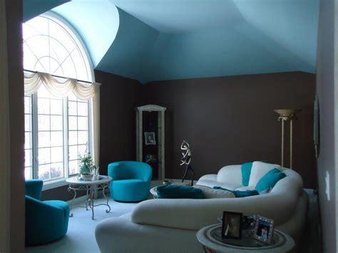 Déco Salon Taupe Et Turquoise