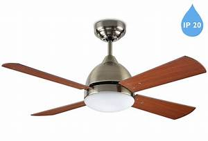 Leds c borneo ip remote controlled ceiling fan