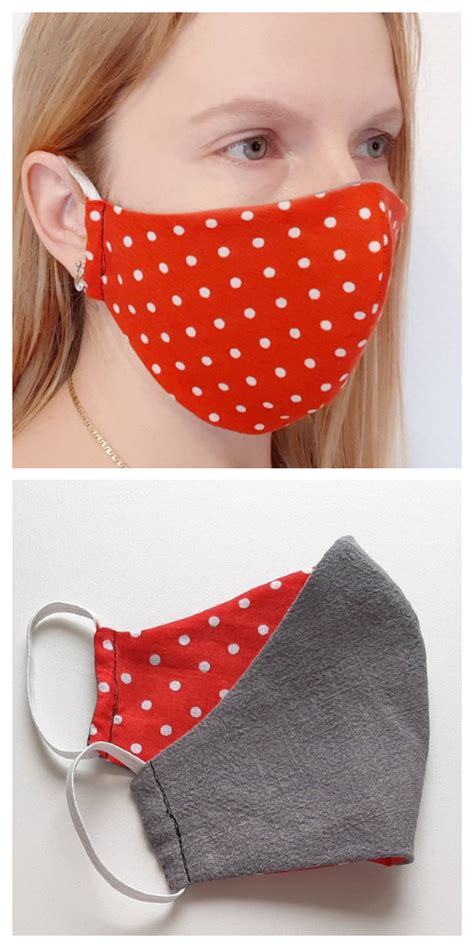 diy fabric face mask  sewing patterns paid fabric
