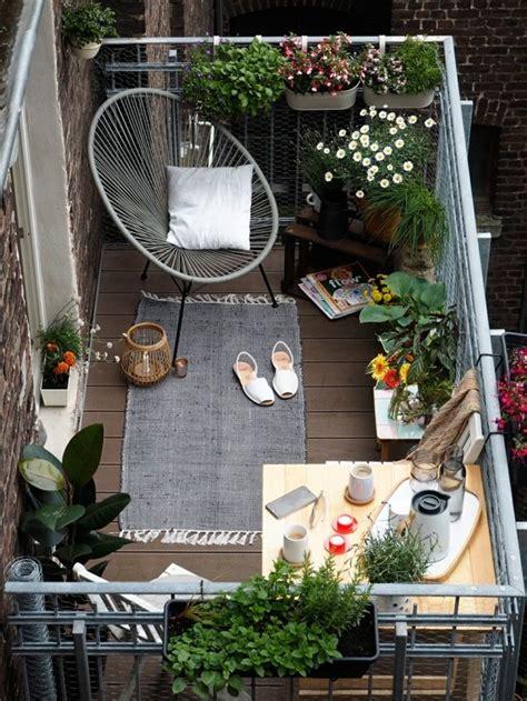 ideen wie man die kleine terrasse gestalten kann