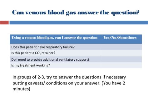 Are Venous And Arterial Blood Gas Analysis Interchangeable