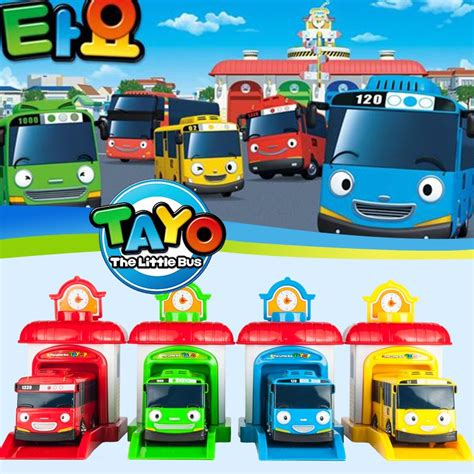 Tayo Garage by 2016 Scale Model Tayo The Children Miniature