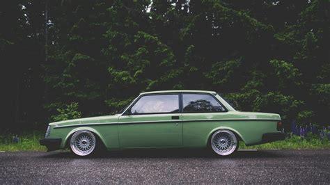 Car, Tuner Car, Volvo, Green Wallpapers Hd / Desktop And