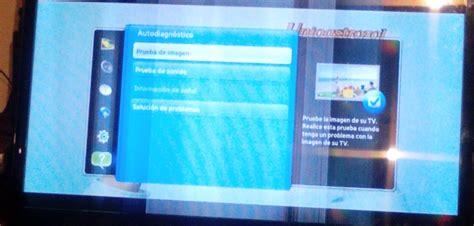 solucionado tv led samsung modelo un46d6000sf lineas verticales yoreparo