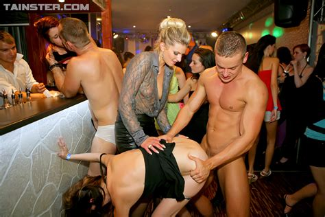 Drunk Orgy Party Hotties Enjoying Sexy Women In Lingerie Picture 7