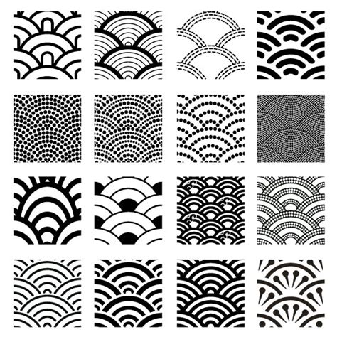 geometric pattern vector silhouette images geometric