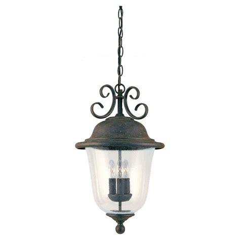 home depot outdoor hanging lights sea gull lighting herrington 2 light outdoor black hanging