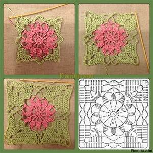Ergahandmade  Crochet Blanket   Diagram   Step By Step