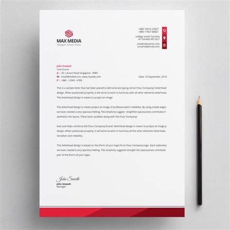 letterhead premium vector letterhead template design