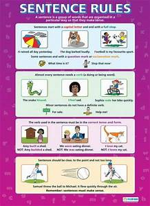 Sentence Rules Poster