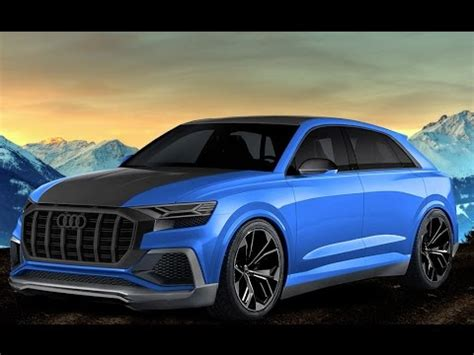 2018  2019 Audi Rs Q8 (605 Hp)  Exhaust Note Youtube