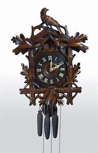 Antique, Cuckoo, And, Quail, Wall, Cuckoo, Clock