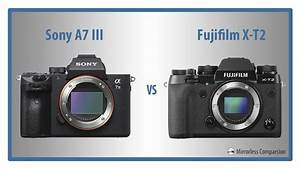 Sony A7 Iii Vs Fujifilm X