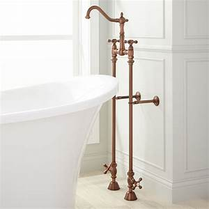 Victorian Freestanding Tub Faucet Supplies Valves