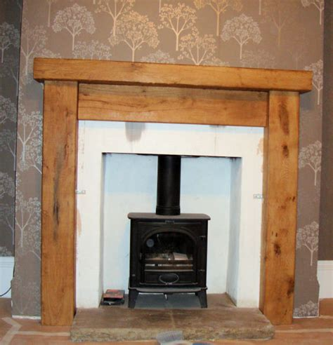 Fireplace Surround by Aj Rustic Oak