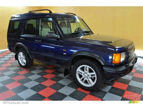 blue land rover discovery 2002 oslo blue metallic land rover discovery ii se