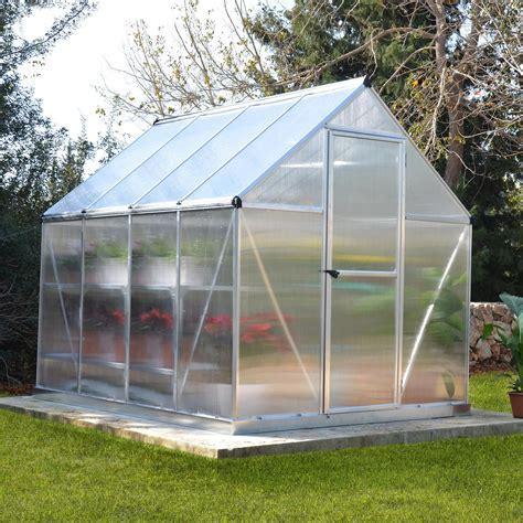 Palram Mythos 6x8 Polycarbonate greenhouse   Departments