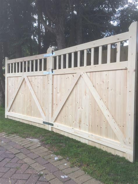 driveway gates east yorkshire gates