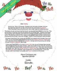 Wonderfull free letters from santa north pole letter for Santa letters from north pole uk