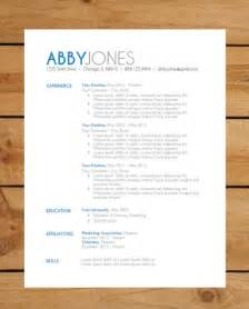 best modern resume templates top resume formats in 2014