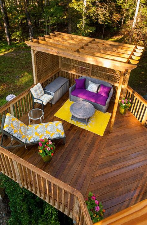 backyard deck plans 20 timber decking designs that can append of your
