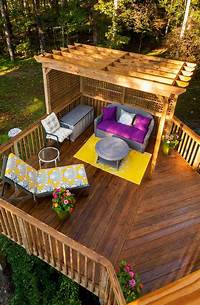 outdoor deck ideas 20 Timber Decking Designs that can Append Beauty of your Homes | Home Design Lover