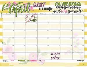 April-2017-Calendar- inkhappi