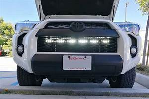 Tow Vehicle Light Kit 2014 Up Toyota 4runner Behind Grille Mount Led Light Bar
