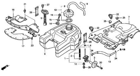 Honda Rancher Carburetor Hose Diagram
