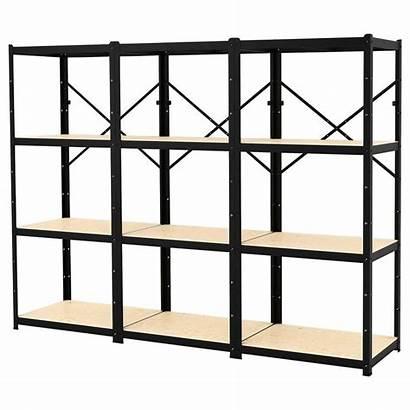 Ikea Shelves Shelving Bror Cm Wood Units