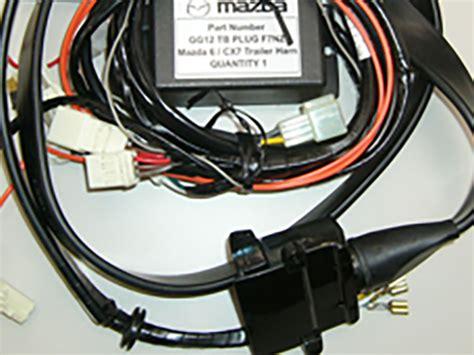Tow Bar Custom Wiring Harness Mazda New Zealand