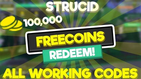 working strucid codes october  youtube