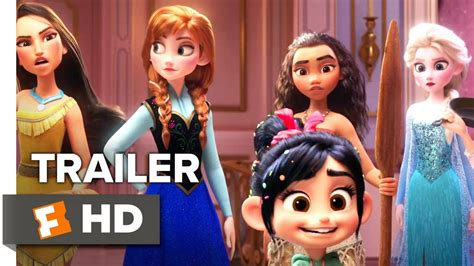 ralph breaks  internet wreck  ralph  trailer