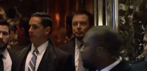 Tesla Ceo Elon Musk Arrives At Trump Tower, Will Meet