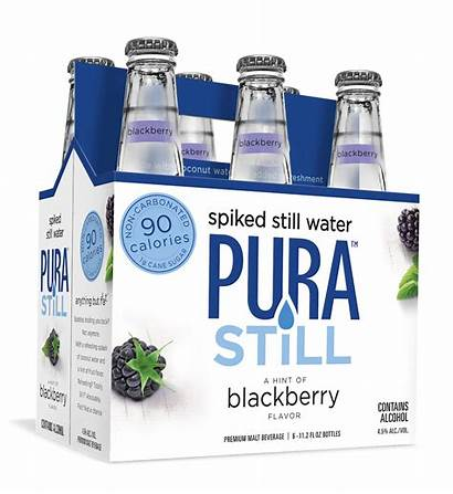 Pura Water Still Spiked Alcoholic Flavored Non