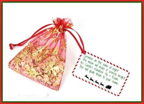 magic reindeer food   printable label fun