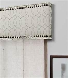 Custom Cornice With Nailheads - Contemporary - Window ...