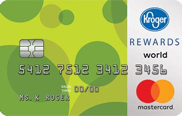 Maybe you would like to learn more about one of these? Kroger REWARDS World Mastercard® - Credit Card Insider