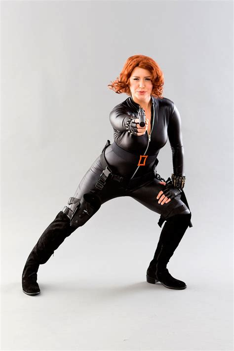 black widow   avengers costume brit