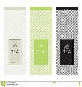 Tea Packaging. Template Design Element. Stock Vector ...