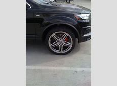 Q7 Sline with red brake calipers AudiWorld Forums