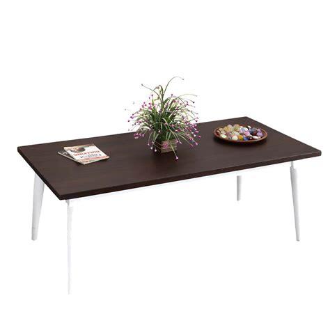 "Solid, oriental wood and great teak opium coffee table. Dark & Light Contrast Solid Wood 47"" Coffee Table"