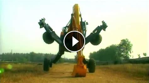 amazing  terrain spider excavator