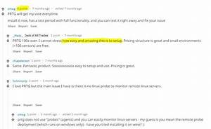 Prtg Review   1 Recommend Monitoring Tool On Reddit